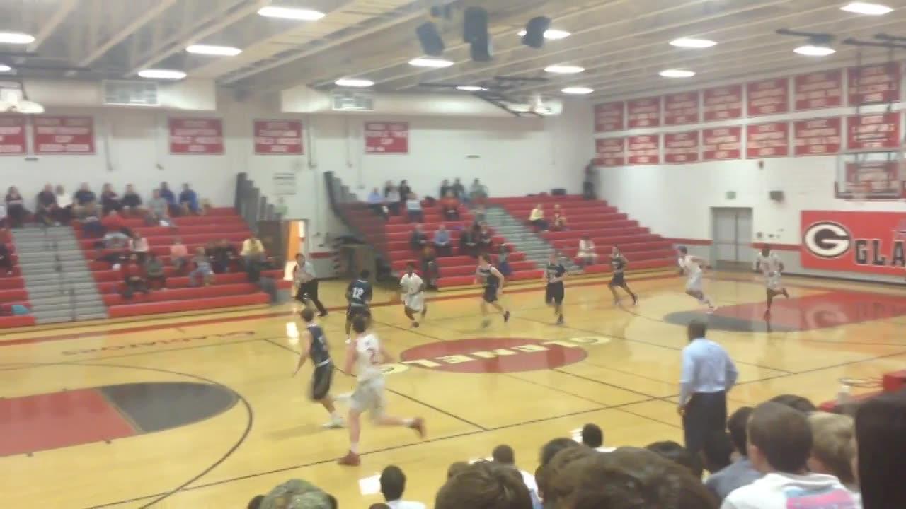 Glenelg High School vs. Marriotts Ridge - Trevor Winn ...