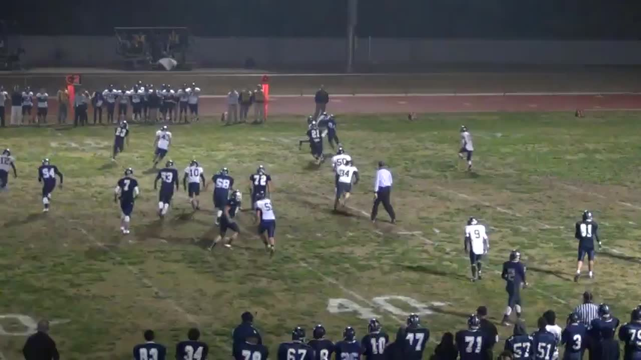 Sam Metcalf's 2013-14 Season playing football for Farmersville ...