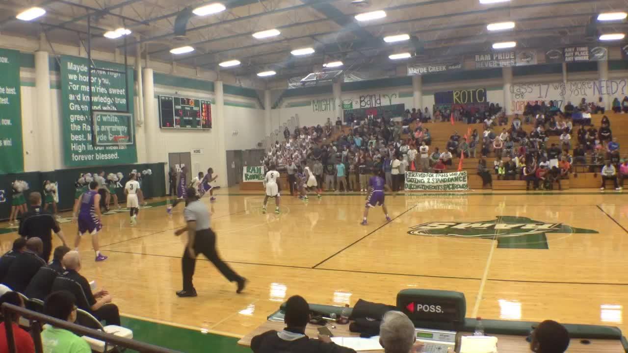 Morton ranch high school vs mayde creek bryson johnson for Morton creek ranch