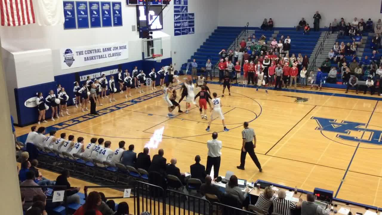 Lexington Christian Academy vs. Dunbar - Trevor Hill ...