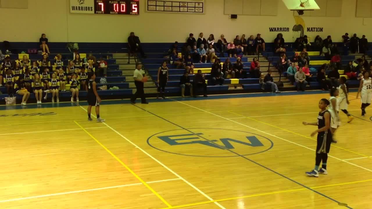 Millbrook High School vs. East Wake High - Dazia Powell ...